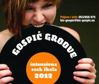 "ROCK ŠKOLA GOSPIĆ""Groove"" 2012"