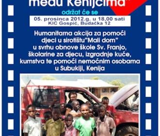 """Projekcija filma """"PUT DOBROTE – Fra Miro Babić među Kenijcima"""""""