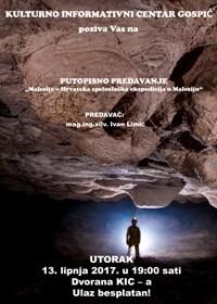 """Putopisno predavanje """"Malezija – Hrvatska speleološka ekspedicija u Maleziju"""""""