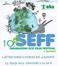 Ljetno kino u atriju KIC-a Gospić – SEFF u gostima
