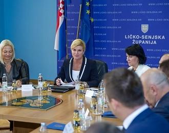 Treći dan boravka Predsjednice u Ličko – senjskoj županiji