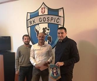 RK Gospić potpisao ugovor s firmom Calcit