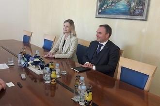 Veleposlanica Republike Slovenije Smiljana Knez u posjetu ličko-senjskoj županiji
