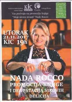 """Predstavljanje knjige """"Moje sirove strasti"""" autorice Nade Rocco"""