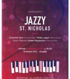 "Koncert Gospićkog glazbenog centra ""Jazzy St. Nicholas"""