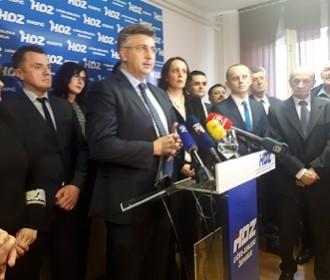 Predsjednik Vlade i HDZ-a Andrej Plenković održao radni sastanak u Gospiću