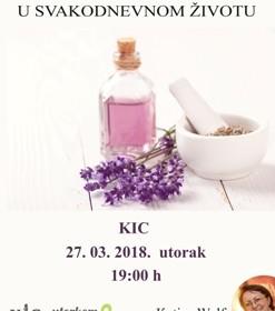 Primjena aromaterapije u svakodnevnom životu
