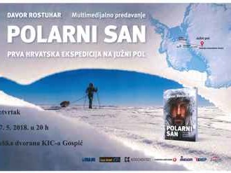 "Multimedijalno predavanje ""Polarni san"" Prva hrvatska ekspedicija na Južni pol"