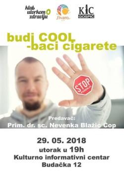 """Predavanje """"Budi COOL – baci cigarete"""""""