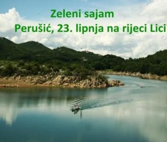 """23. lipnja u Perušiću manifestacija """"Zeleni sajam"""""""
