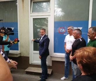 Kandidat za predsjednika Županijske organizacije HDZ -a Darko Milinović posjetio Otočac