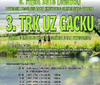 """8. rujna 2018. održava se """"3. TRK UZ GACKU"""""""