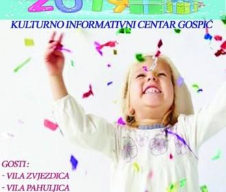 Dječja Nova godina – KIC Gospić