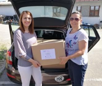 Četvrta dodjela paketa u sklopu projekta Zaželi