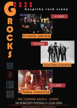 GROCKS 2020, vrhunski glazbeni događaj